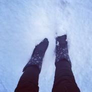 When the snow finally came